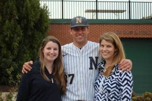alli, kash and i after navy beat lehigh